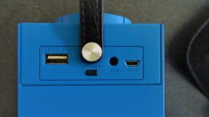 Anschlüsse Bluetooth Box