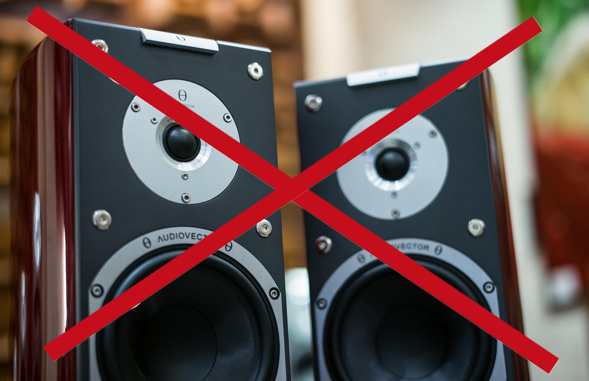 Keine Soundanlage